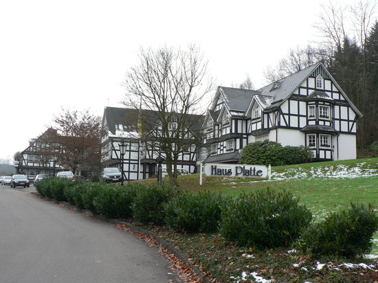 Attendorn, Germany: the hotel