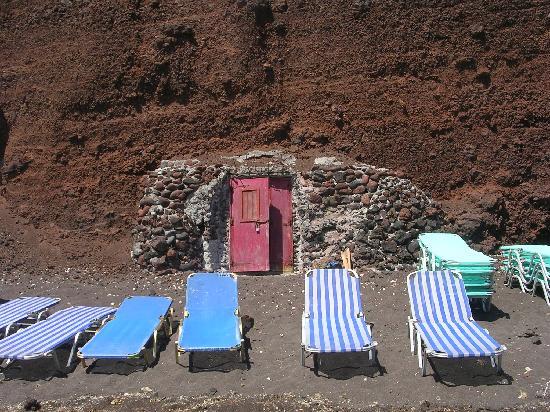 Akrotiri, Grecia: Red Beach