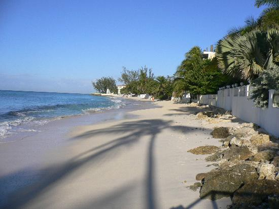 Christ Church, Barbados: Peaceful Worthing Beach