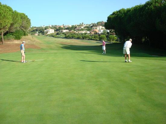 Almenara Golf Club: 2nd Hole 'Los Pinos'