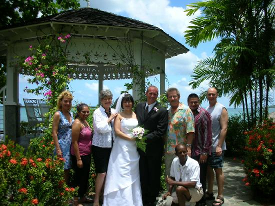 Sandals Halcyon Beach Resort A Wedding We Attended