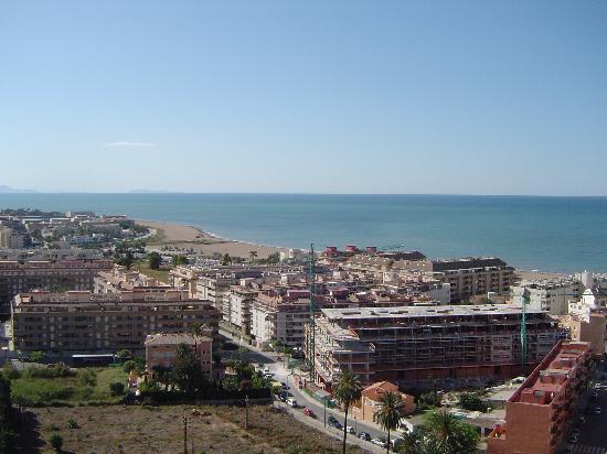 The Las Marinas beach area of Denia
