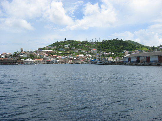 grenada from the sea