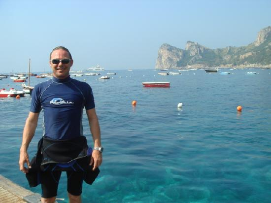 Hotel Dania: great scuba diving in villagio de nettuno