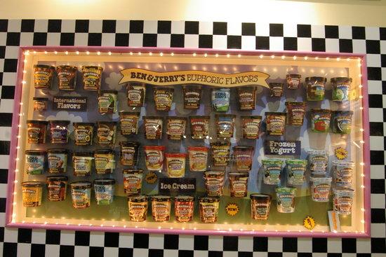 Βερμόντ: Yujm Yum - Ben & Jerrys