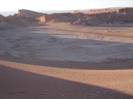 Desierto De Atacama: sunset over the desert