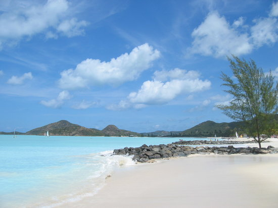 Runaway Bay, Τζαμάικα: milky water