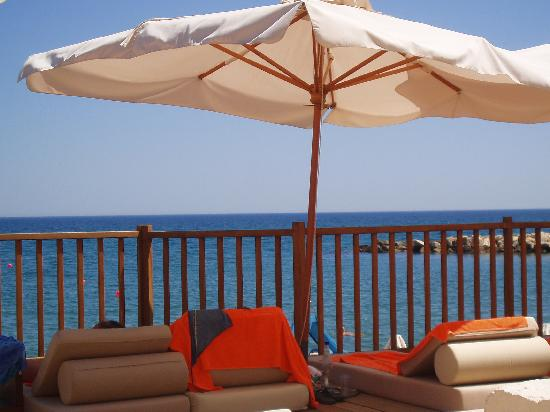 Londa Hotel : View from your lounger by the pool
