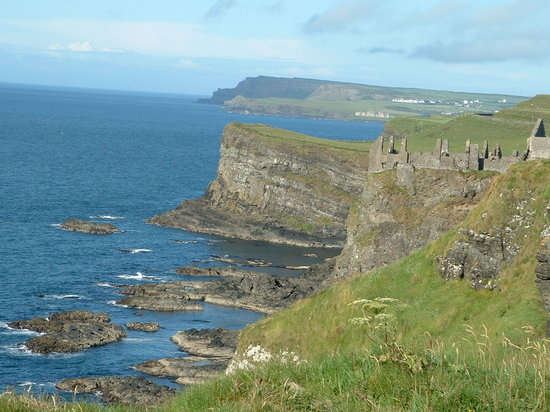 County Antrim, UK: Dunluce castle,  Co Antrim; N.Ireland