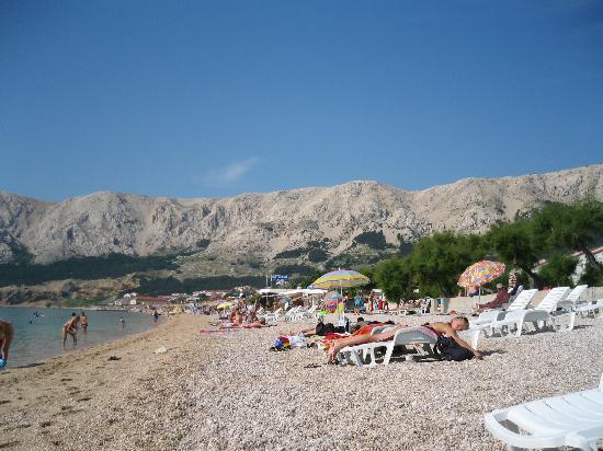 Corinthia Baska Hotel: Spiaggia di Baska