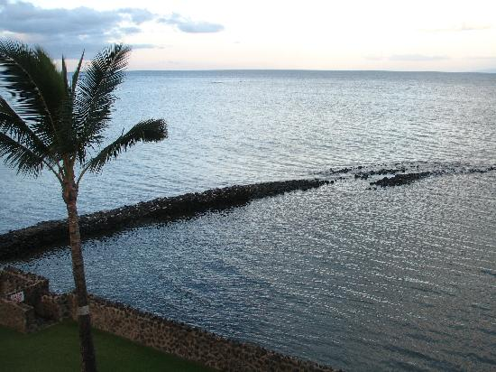 Menehune Shores: view from lanai