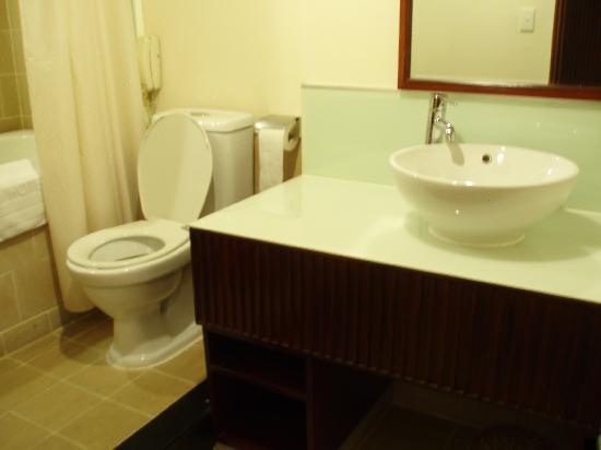 Bong Sen Hotel Saigon: toilet
