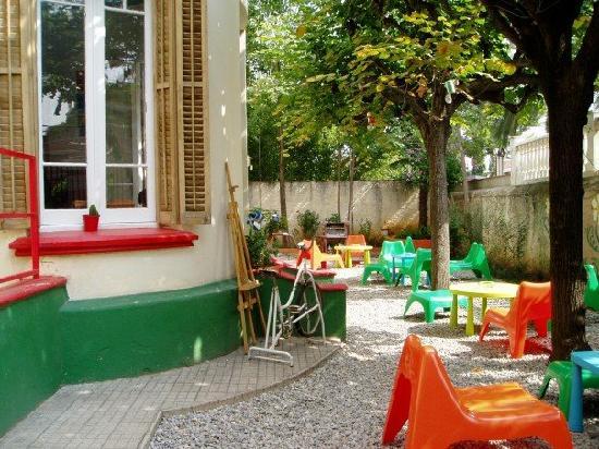 Garden House Hostel Barcelona : Garden