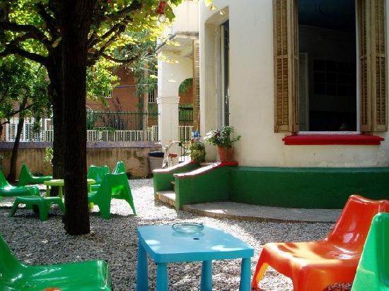 Garden House Hostel Barcelona : Garden again