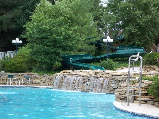 Main pool with waterslide - Picture of Tan-Tar-A Resort, Golf Club ...