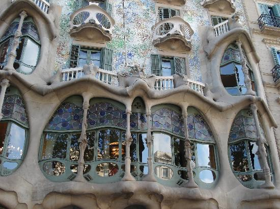 Gaudi Apartments Barcelona Hill House by Charles Rennie