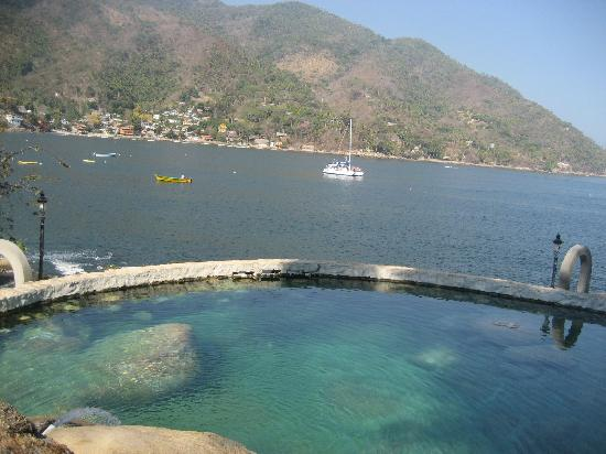 Yelapa, Mexico: Fresh water pool