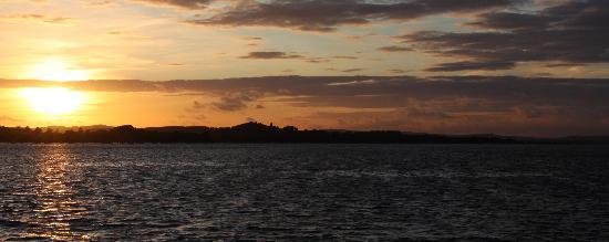 Exmouth, UK: Sunset on Exmouth Estuary