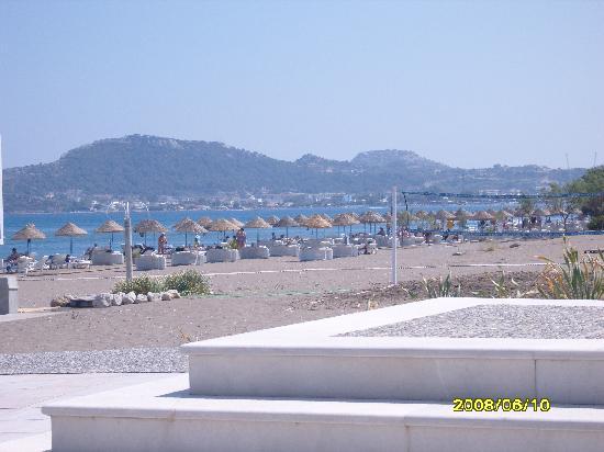 Blue Sea Beach Resort: The private beach - breathtaking!