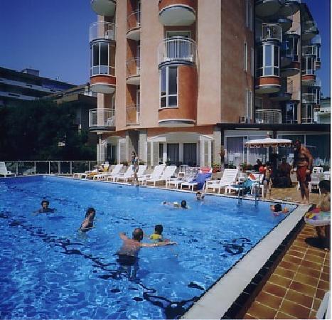 Hotel Stockholm: la piscina