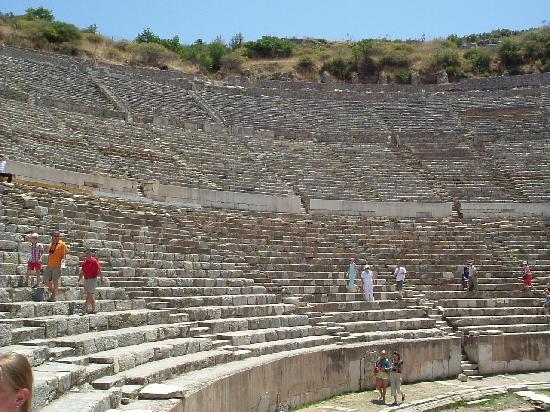 Turkey: The Ampitheatre at Ephesus