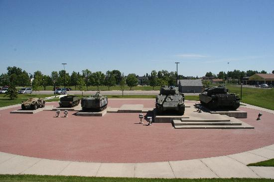 The Military Museums: Front display