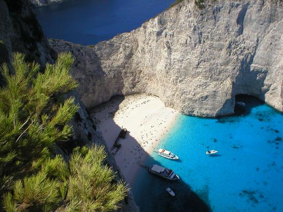 Katerina Palace Hotel: Shipwreck Cove on Zakynthos