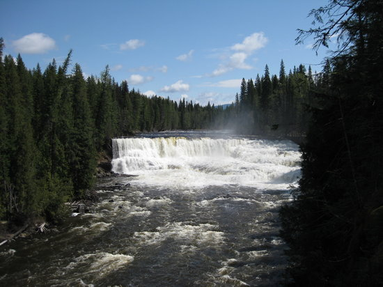 Helmcken Falls Lodge: Dawson Falls