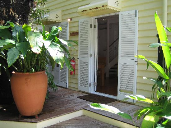 port douglas cottage and lodge: Entrance