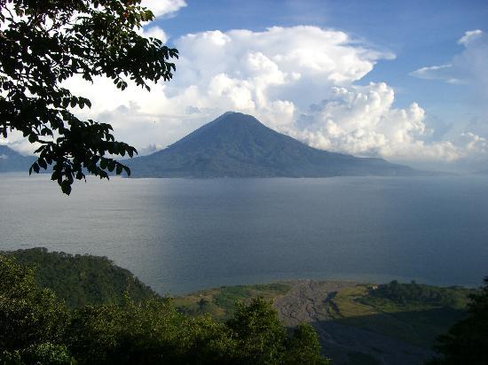 San Marcos La Laguna, Guatemala: VISTA DESDE EL HOTEL