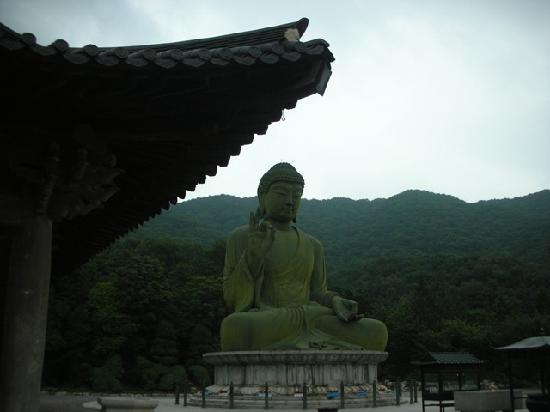 Chungcheongnam-do, Sør-Korea: Taejo-san Buddha