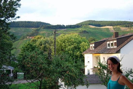 Gästehaus Franziskus-Hof: View from our private patio