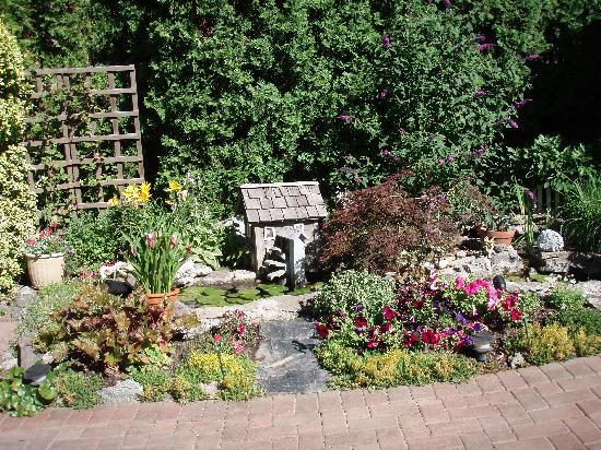 Montcalm Garden Bed & Breakfast: the fish pond