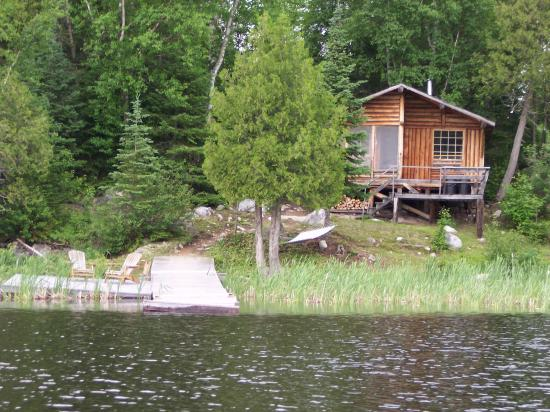 Errington's Wilderness Island Resort Cabin 1