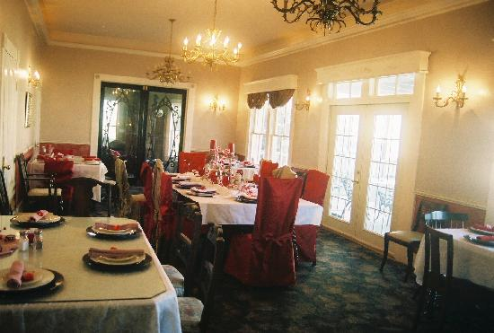 Swann Hotel Bed and Breakfast: Swann Hotel Dining Room