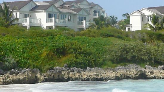 Grand Isle Resort & Spa: View of Villas from the Beach