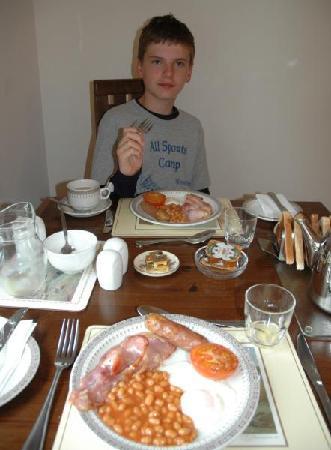 Berkeley House: Breakfast