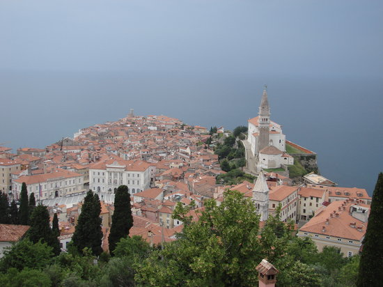 Piran, Slovenia, jun 2008, view of town