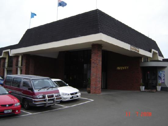 Kingsgate Hotel The Avenue Wanganui: Front Entrance