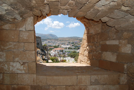 Rethymnon, Greece: View from the Fortress