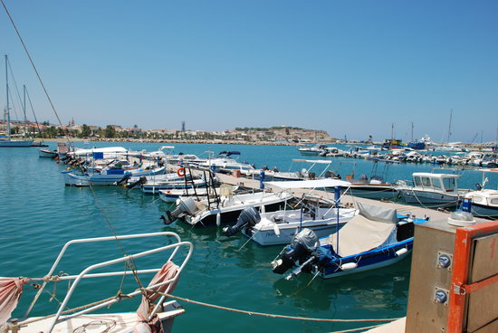 Rethymnon, Hellas: The Marina
