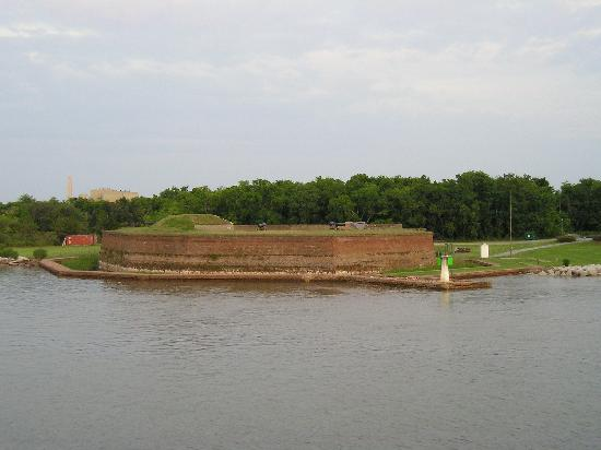 Old Fort Jackson from Savannah River