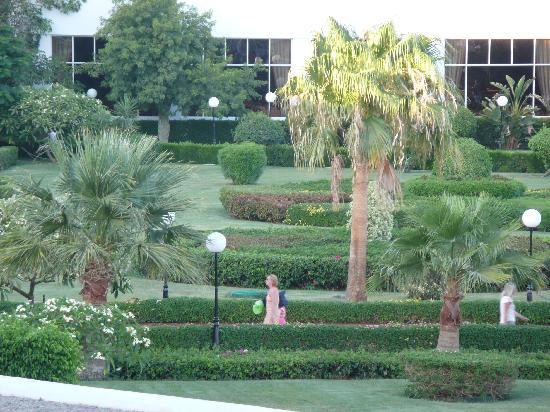 Baron Resort Sharm El Sheikh: i giardini dell'hotel