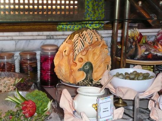 Baron Resort Sharm El Sheikh: scultura di zucca