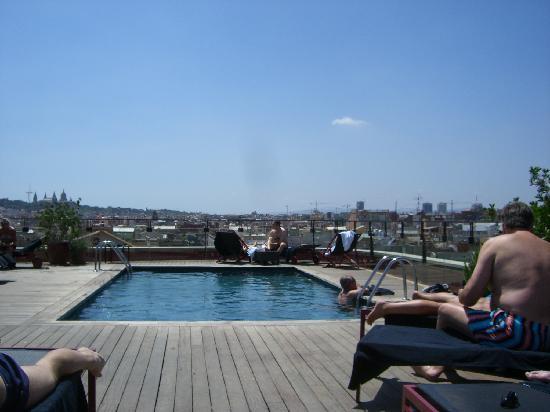 Hotel 1898: La piscine sur le toit