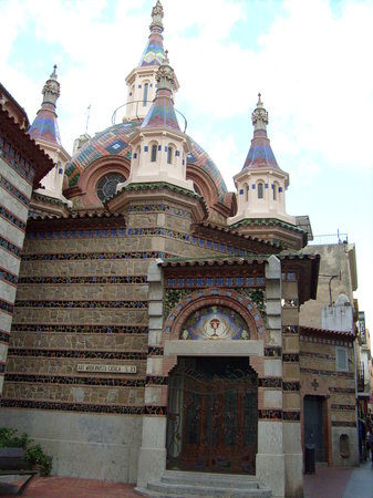 Lloret de Mar, España: Church, worth a visit