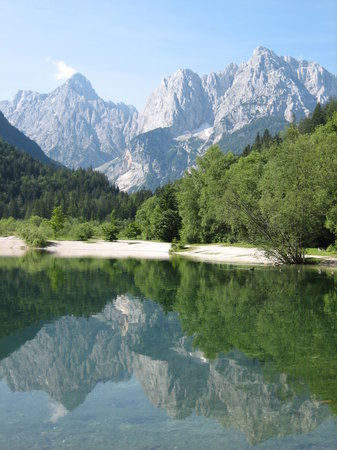 Kranjska Gora with Jasna Lake