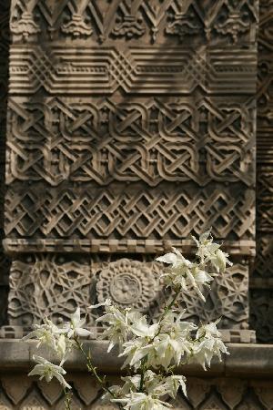 Astoria Hotel: Reliefs an der Trei Ierarhi-Kirche, einer der bedeutendsten Sakralbauten von Iasi, 200 m vom Hot
