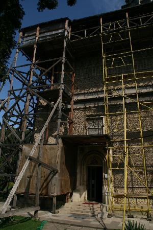 Astoria Hotel: Zurzeit werden viele Baudenkmäler restauriert