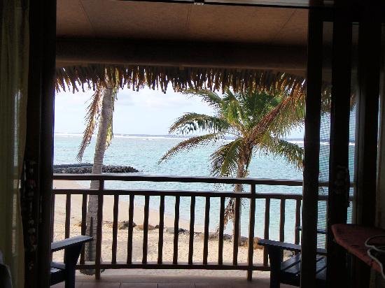 The Rarotongan Beach Resort & Spa: View from our Beachfront Suite